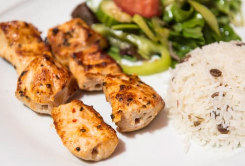 turkish chicken kebabs