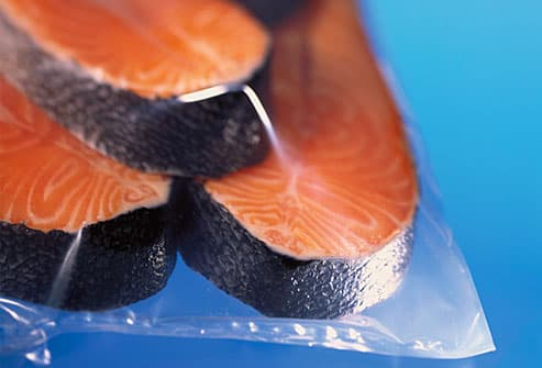 Packaged fish fillets