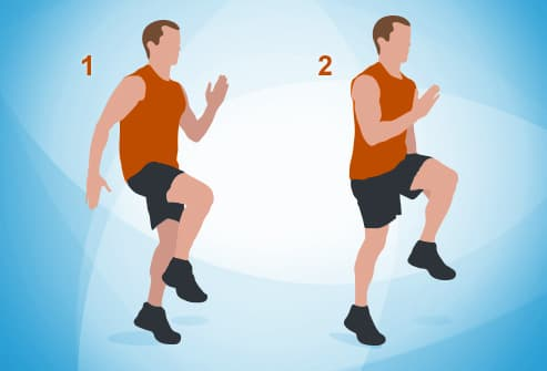 The 7 Minute Workout In Pictures