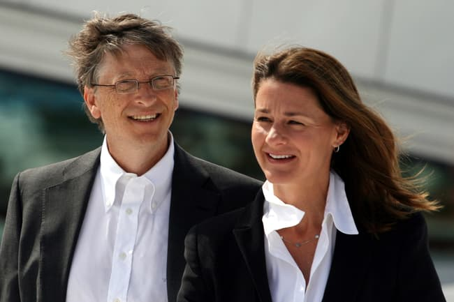 photo of bill and melinda gates