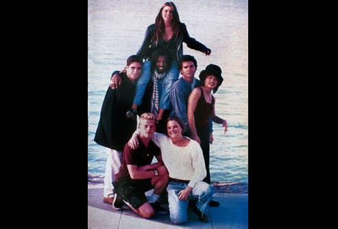 "cast of MTV's ""The Real World,"" in 1994"