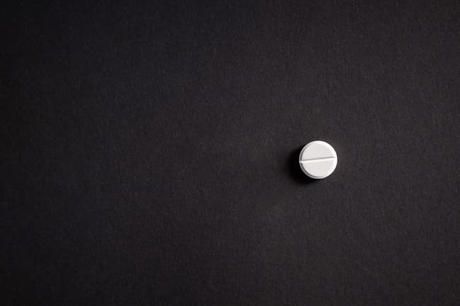 one aspirin pill
