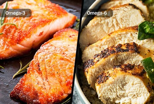 omega-3 and -6 foods