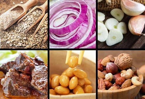 six foods with selenium