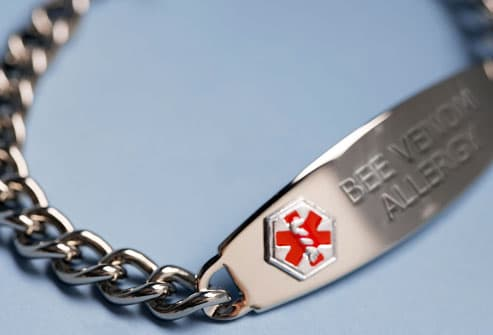 Medical Allergy Alert Bracelet