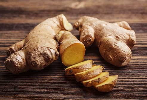 chopped ginger root