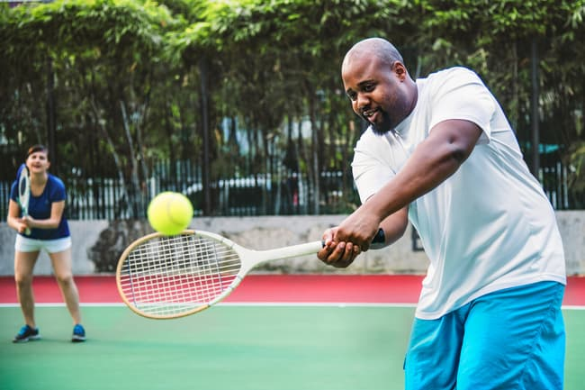 photo of tennis player