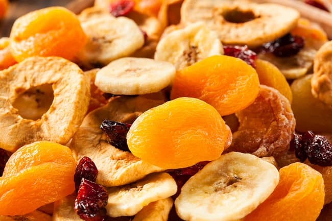 photo of dried fruit