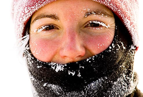frosted face