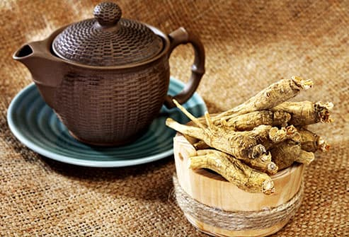 ginseng root tea