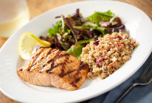 Salmon And Quinoa