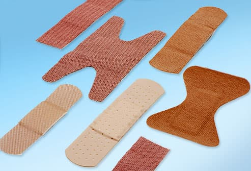 Assortment of Fabric Bandages