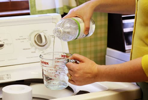 Using Vinegar in Laundry