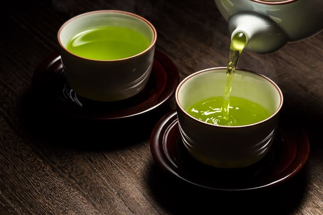 photo of green tea