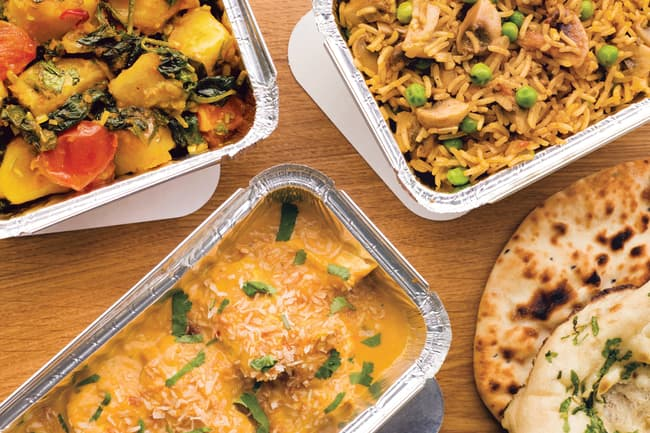 indian food portions
