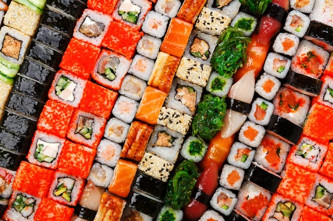 is sushi bad for you on a diet