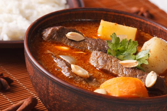 massaman curry