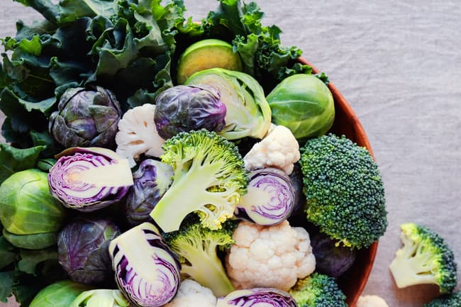 photo of cruciferous vegetables