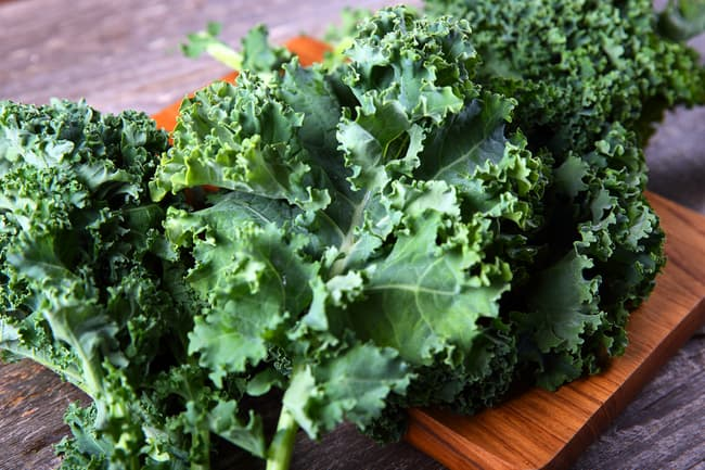 photo of kale