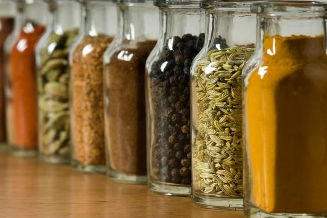 photo of assorted spices