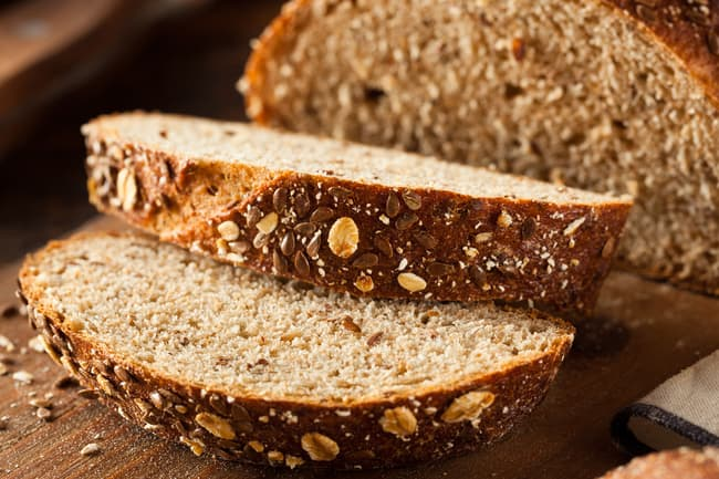 photo of whole grain bread