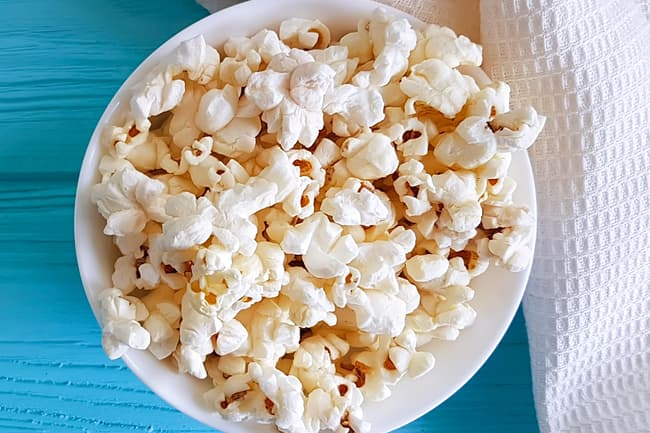 photo of bowl of popcorn