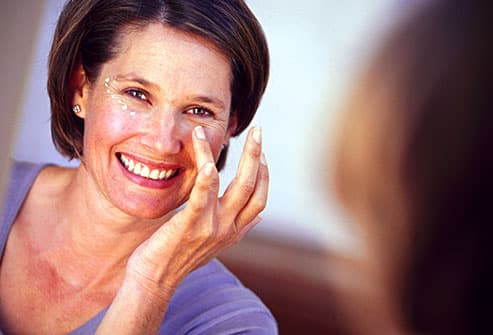 Menopause skin issues