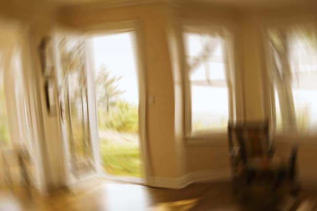 photo of dizziness at home