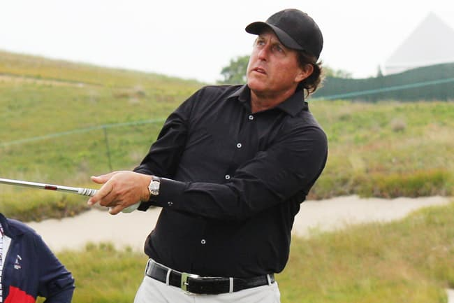 photo of phil mickelson