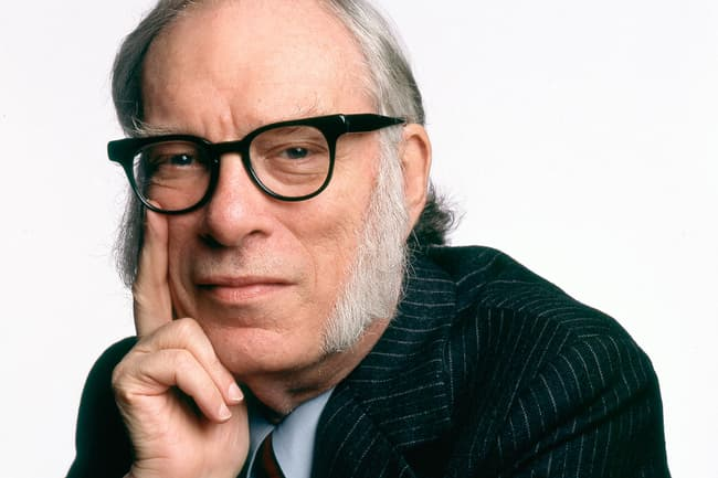 photo of isaac asimov
