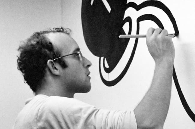 photo of keith haring