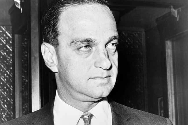 photo of roy cohn