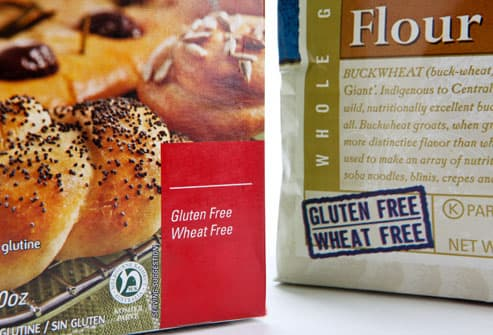 Gluten free packaged foods