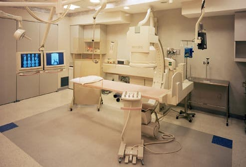 radiology department at hospital