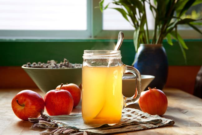 apple water glass day doctor peru delights