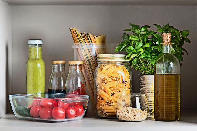 photo of pantry items