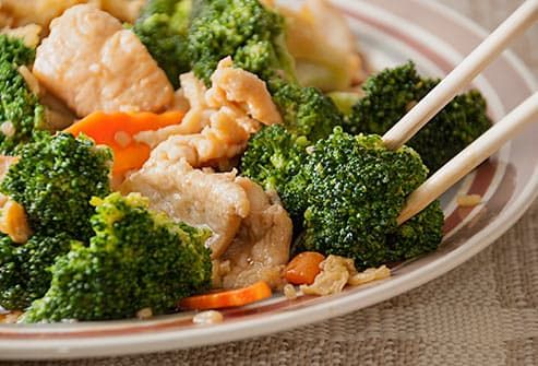 broccoli chicken stir fry