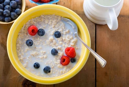 Oatmeal with Milk is Great for COPD