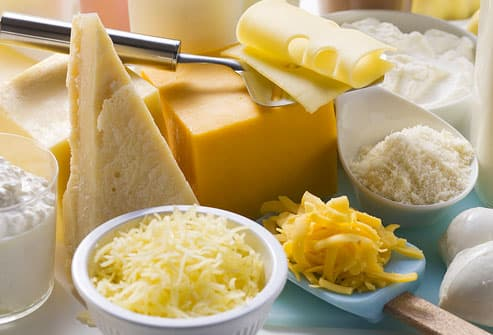 High Calcium Cheese for COPD
