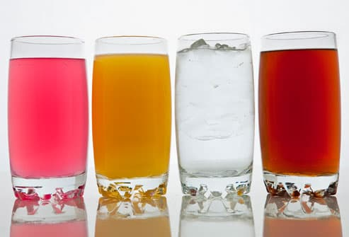 Assortment of Hydrating Liquids