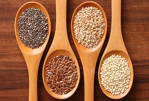 spoons and grains