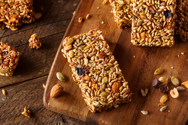 photo of breakfast bars