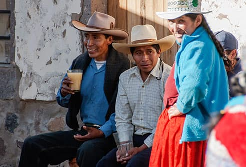 people of andes mountains