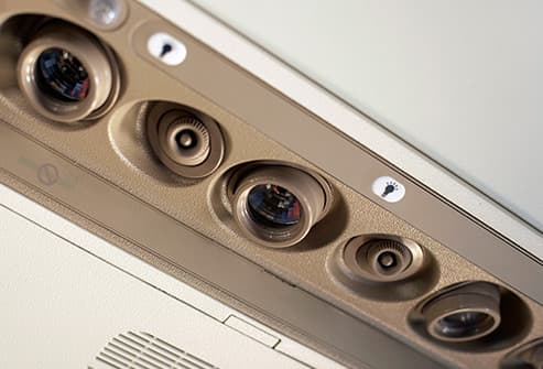 air vent controls on aircraft