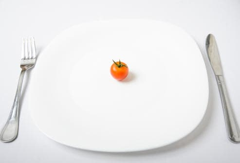 cherry tomato on white plate