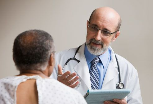 Doctor Consulting Patient About ED