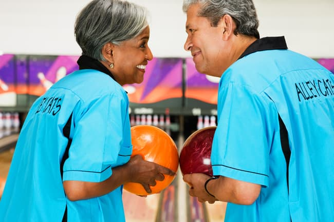 photo of people on bowling team