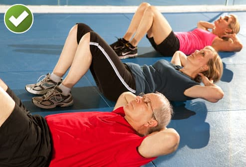 Try Partial Crunches Some Exercises Can Aggravate Back Pain