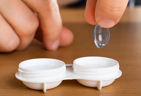 contacts case