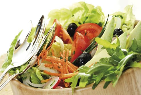 Bowl Of Healthy Salad